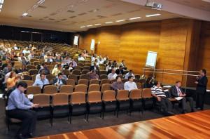 Durante a aula teórico-prática, realizada no TCE-PE, o conselheiro Edílson explicou também o funcionamento da Corregedoria-Geral do TCE de Rondônia
