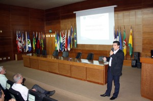 O auditor de Controle Externo Rubens Miranda abordou, em detalhes, o Manual de Auditoria do TCE-RO