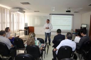 O secretário Juscelino Vieira fez uma análise sobre os indicadores relativos ao planejamento estratégico do órgão ministerial