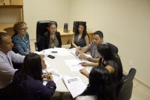 Servidores da Segesp e da CGPC se reuniram para estabelecer o trabalho que terá como foco os objetivos estratégicos