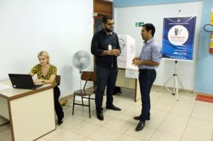 Atendimento presencial da Ouvidoria do TCE-RO aos participantes do Seminário Fechando as Contas