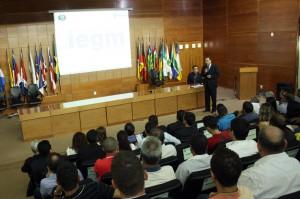 O secretário de Planejamento do TCE-RO, Juscelino Vieira, explicou o modo como será desenvolvido o IEMG