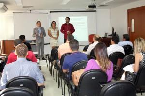 O diretor da Escola Superior de Contas, Raimundo Oliveira, explicou os objetivos da capacitação