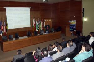 O presidente da FenasTC, Amauri Perusso, também fez uma palestra sobre aspectos relativos à carreira de auditoria