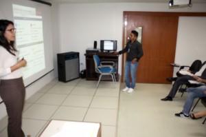 A chefe de gabinete da Procuradoria-Geral do MPC, Christiane Pereira, falou dos objetivos da oficina