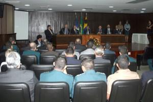 Na solenidade, realizada no auditório do TJ, foram homenageadas 58 autoridades do Estado