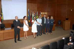A equipe de secretários e diretores da SGA