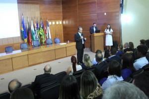 "O conselheiro presidente Edilson de Sousa destacou o sentimento positivo despertado pelo ""Somos Todos Um"""