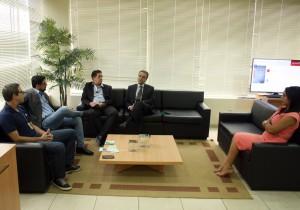 Reunião na Presidência abordou o sistema de cooperativismo adotado pela Credjurd/Sicoob