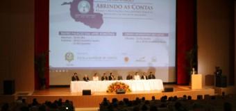 Participantes ressaltam relevância do Seminário Abrindo as Contas para a melhoria da gestão pública