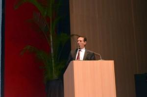 O presidente da Assembleia, deputado Maurão de Carvalho, parabenizou o Tribunal pelo evento destinado aos prefeitos e suas equipes