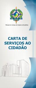 CAPA CARTA DE SERVIÇOS DO TCE -RO