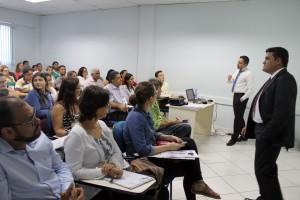 Oficina sobre Sistema de Controle Interno tem como instrutores Marc Uiliam e Rubens Miranda