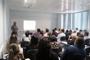 Oficina sobre subsídios dos agentes públicos é ministrada pelo secretário-executivo da SGCE, Francisco Barbosa