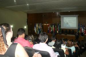 O secretário-geral de Controle Externo, José Luiz, abriu a capacitação realizada no auditório do TCE-RO