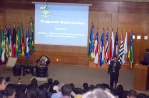 A atuação das Apacs foi o tema da palestra do conselheiro Benedito Alves