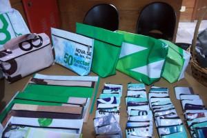 Produtos confeccionados pelos reeducandos foram sorteados aos participantes do lançamento do Programa Boas Contas