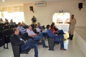 Em Cacoal, os servidores lotados na Regional assistiram à palestra sobre primeiros socorros
