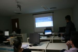 Assessor técnico apresenta os percentuais dos indicadores