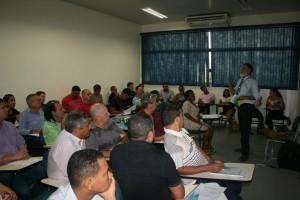 Técnicas de Processo Legislativo foi tema de capacitação ministrada por Laércio Fernando