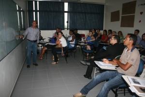 O instrutor Francisco Pinto também atuou na capacitação de Controle da Receita