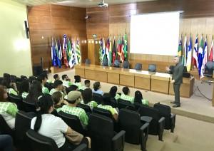 As informações sobre os sistemas de TI usados pelo Tribunal foram repassadas pelo secretário Marcelo Rech