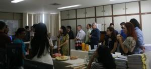 Os servidores da SGCE se uniram ao DDP no Café Entre Nós