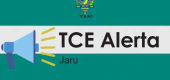 TCE-RO expede termo de alerta ao município de Jaru