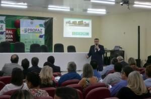 O Portal Tô no Controle foi apresentado aos participantes do 3º Encontro Técnico do Profaz em Ji-Paraná