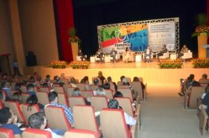 O painel de debates contou com representantes das instituições realizadora e apoiadoras do Fomenta Rondônia