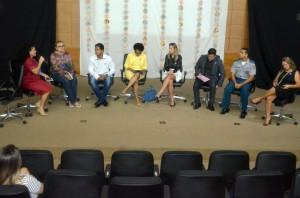 Representantes das instituições apresentaram o que cada uma desenvolve  no combate à violência contra a mulher
