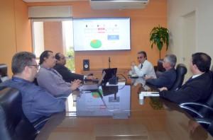 Novos indicadores da educação foram apresentados pela equipe do Tô no Controle à Direção do TCE