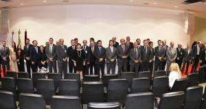 A nova diretoria e o conselho fiscal da Atricon foram empossados durante solenidade em Brasília