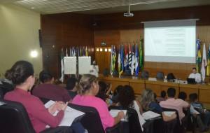 Os instrutores Cleice Pontes e Hugo Viana foram os responsáveis por repassar todo o conteúdo doutrinário e legal aos participantes da capacitação