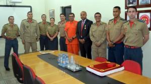 A solenidade foi realizada no Comando Geral do Corpo de Bombeiros Militar, em Porto Velho