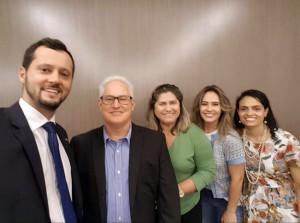 O MPC-RO foi representado no Enampcon pelos Procuradores Ernesto Tavares, Yvonete Fontinelle (Procuradora-Geral) e Érika Saldanha