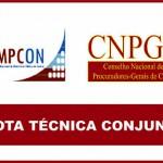 Projeto de lei que reduz atribuições de órgãos de controle é objeto de nota conjunta CNPGC/Ampcon