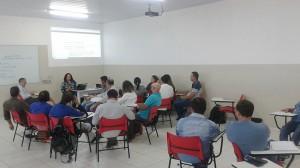 Instrutores Milcelene e Cristóvão retiram dúvidas dos participantes sobre VAF