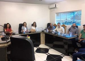 Visita técnica do MPC aos jurisdicionados de Mirante da Serra