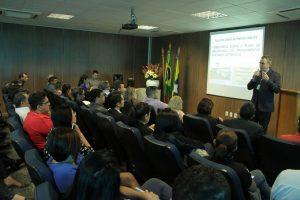 O instrutor José Fernando Domiciano repassou todos os conhecimentos aos participantes