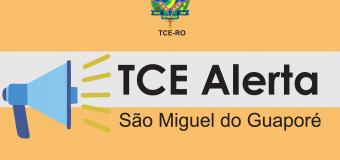 TCE-RO emite termo de alerta ao município de São Miguel do Guaporé