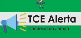 TCE-RO expede termo de alerta ao município de Candeias do Jamari