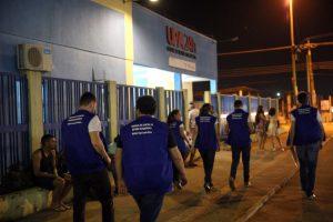 """A 2ª """"Blitz da Saúde"""" foi realizada esta noite nas UPAs de Porto Velho"""