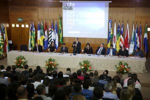 O evento realizado pelo TCE-RO para concessão dos certificados de transparência pública e também como abertura do Encontro Técnico do Profaz