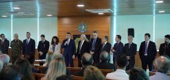 TCE e MPC prestigiam posse do novo delegado geral da Polícia Civil