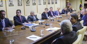 Comissão do Sistema Tribunais de Contas foi recebida pelo ministro da Economia, Paulo Guedes