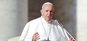 Papa enaltece ação dos TCs e conclama sociedade a combater corrupção