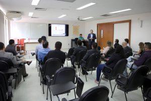 O secretário de Planejamento, Juscelino Vieira, explanou sobre o PPA e ainda falou das ações programadas visando o próximo ciclo do Plano Estratégico