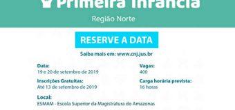 Primeira Infância é tema de seminário promovido na Região Norte pelo CNJ com apoio do IRB