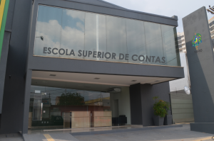 A Biblioteca já funciona  na nova sede da Escola Superior de Contas, na avenida Sete de Setembro, 2.499
